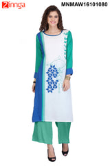 Multi Color Rayon Stitched Kurti - MNMAW16101080