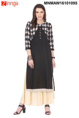 Multi Color Cotto Cambric Stitched Kurti