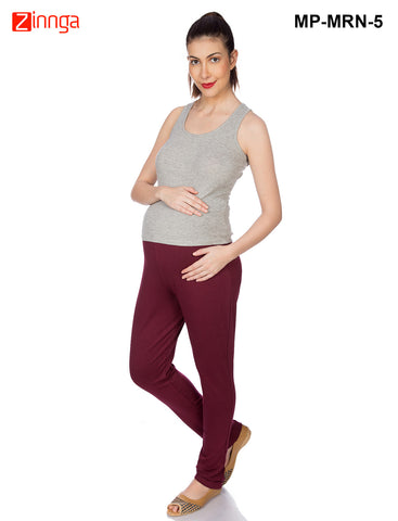 GOLDSTROMS-Women's Adjustable Maternity Pant - MP-MRN- 1