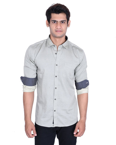 Beige Color Cotton Shirt - MRP07