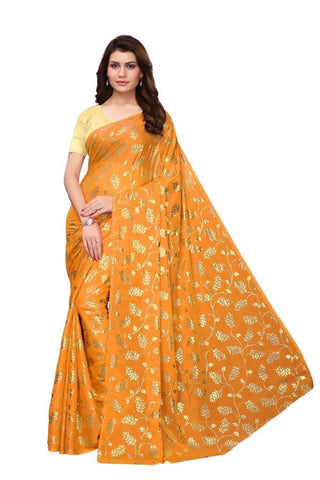 Yellow Color Rangoli Silk Women's Saree - MUTA1955