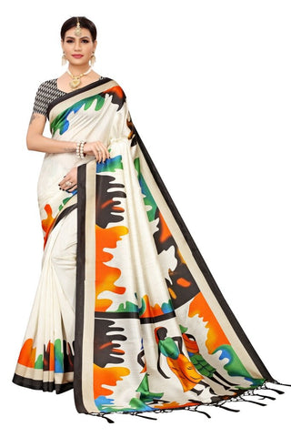 Black Color Banarasi Art Silk Women's Saree - MUTA2059