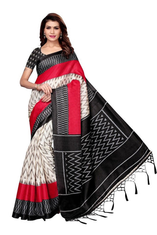 Black Color Khadi Silk Women's Saree - MUTA2238