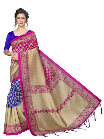Pink Color Art Silk Women's Saree - MUTA2375