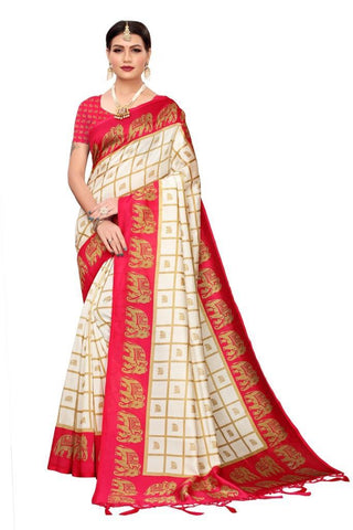 Pink Color Art Silk Women's Saree - MUTA2448