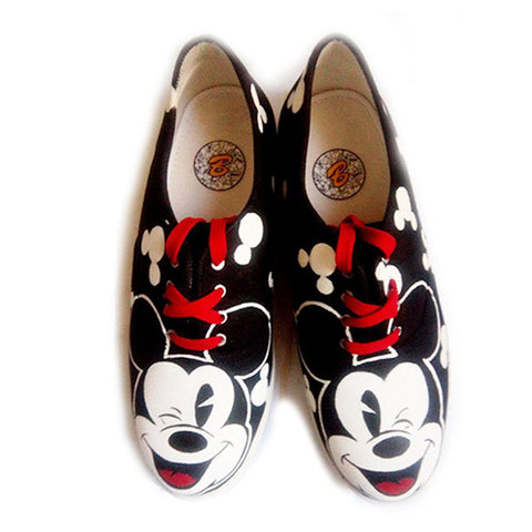 Multi Color  Canvas Unisex Shoe - Micky-Shoe-7