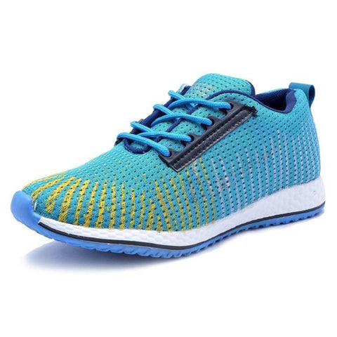 SkyBlue Color Mesh Running Shoe - MultiSky