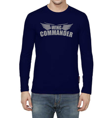 Navy Blue Color GSM With Cotton Mens Tshirt - 10291