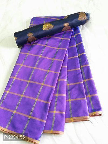 Lavender Color Sana Panetar Silk Saree - NCC134B