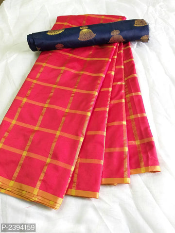 Red Color Sana Panetar Silk Saree - NCC134D