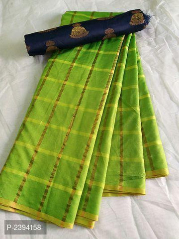 Parrot Green Color Sana Panetar Silk Saree - NCC134G