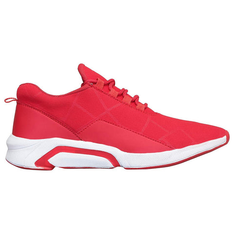 Red Color Canvas Shoes for Unisex - NF009-Red