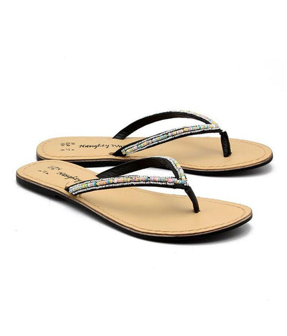Black Color Genuine Leather Sole Sandals - NW-711-MultiBlackSeq