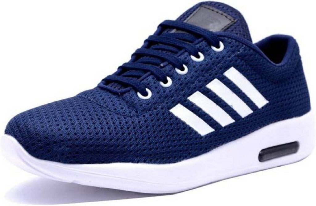 Buy Navy Color Mesh Running Shoe