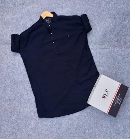 Navy Blue Color Kurta-1ABF-NBK