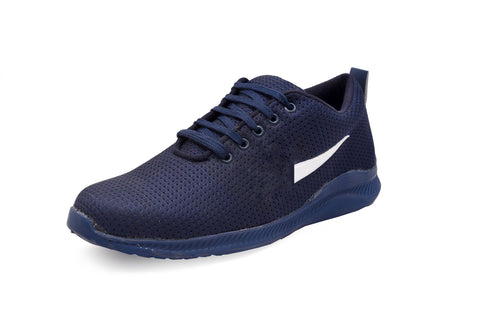 Blue Color Mesh Men Sports Shoe - NikeFull-Blue