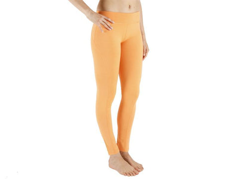 Orange Color Supplex Lycra Legging - ORANGE4-LG