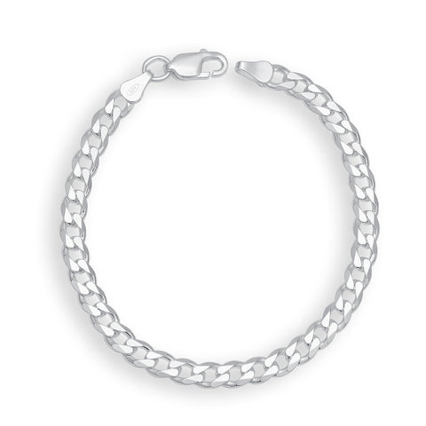 Silver Color Silver Men's Bracelet  - OSA0006
