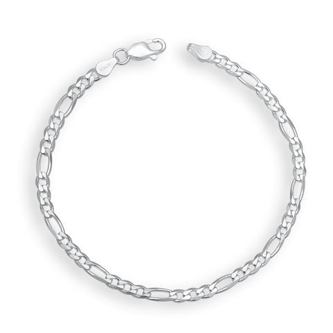 Silver Color Silver Men's Bracelet  - OSA0007