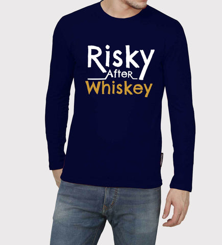 Navy Blue Color 160 GSM 100% Cotton Mens Tshirt - PC-10081