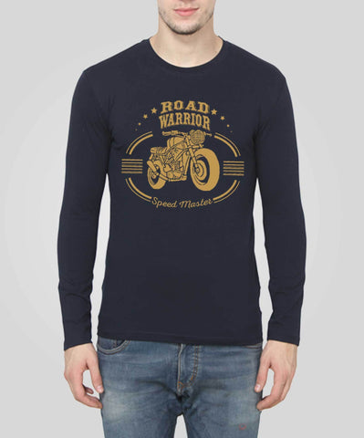 Navy Blue Color 160 GSM 100% Cotton Mens Tshirt - PC-10082