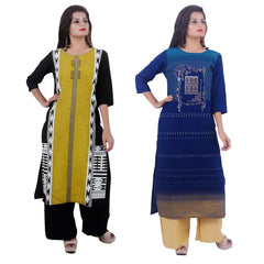 Buy COMBOS-Cotton Stitched Kurtis