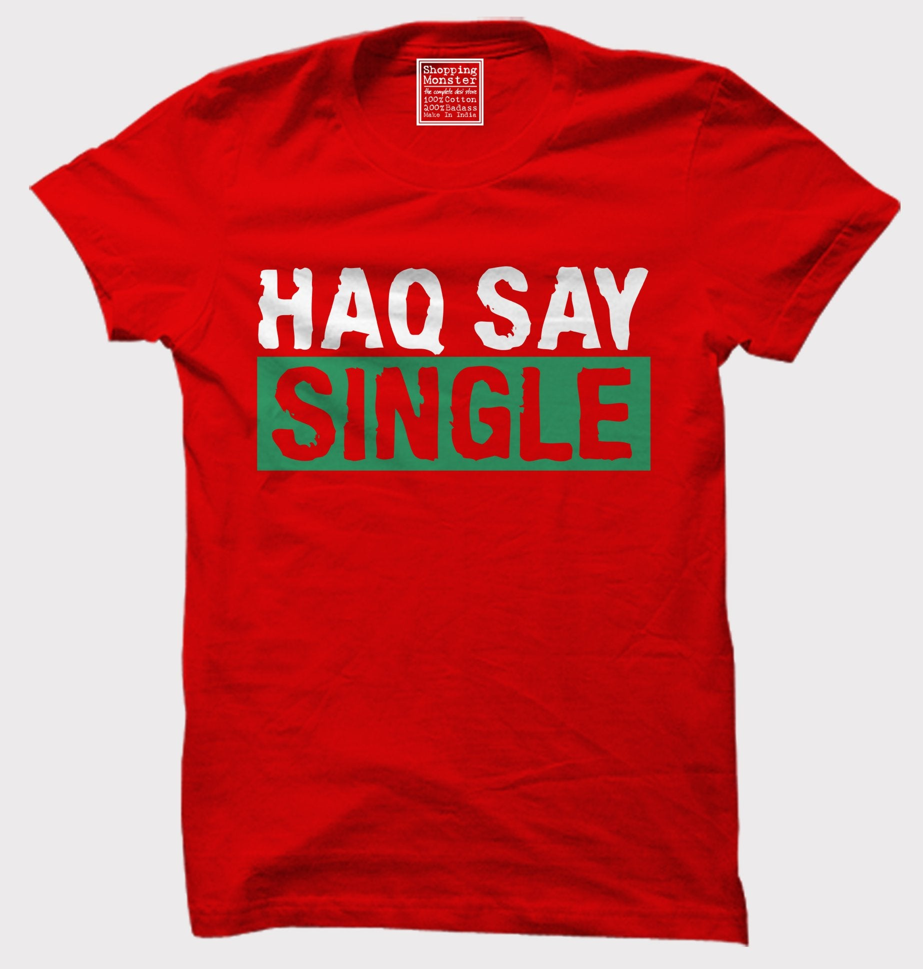 Red Color 160 GSM 100% Cotton Mens Tshirt - PCH-10213