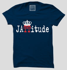Buy Navy Blue Color 160 GSM 100% Cotton Mens Tshirt