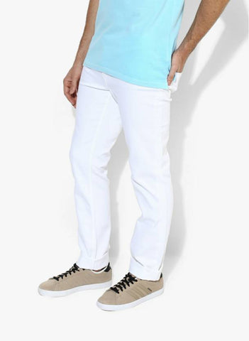 Lawson Skinny Men's White Denim Jeans - PE55
