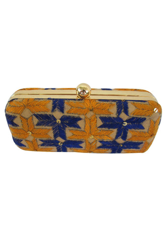 Multi Color Silk Thread Wallet - PH045