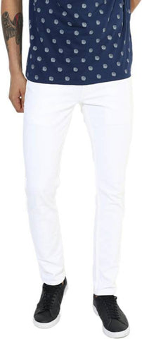 Lawson Skinny Men's White Cotton Jeans - PP-8080
