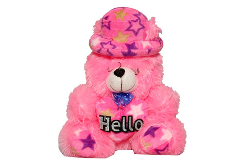 Pink Color Soft and Cozy Plush Toy Micky Mouse for Baby - PT48