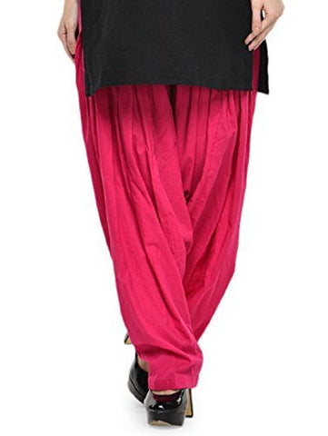 Pink Color Cotton Stitched Women Patiala Pant - Pagrakhi-Cotton-Semi-Patiala15