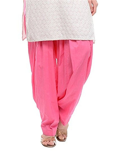 Light Pink Color Cotton Stitched Women Patiala Pant - Pagrakhi-Cotton-Semi-Patiala17