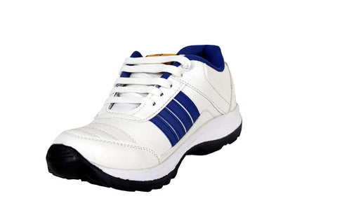 White Color Synthetic Mens canvas Casual shoe - R.bluewhite