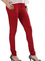 Maroon Color Lycra Legging