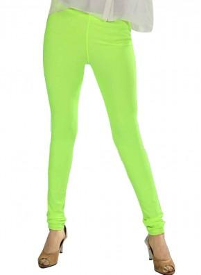 Light Green Color Lycra Legging