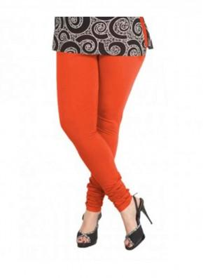 Orange Color Lycra Legging