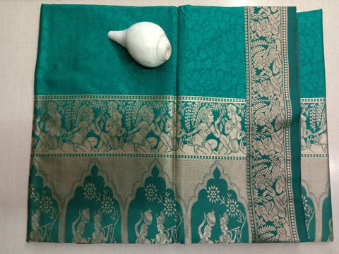 Sharadh Green Color ArtSilk Saree - RADHAKRISHNASHARADHAGREEN001