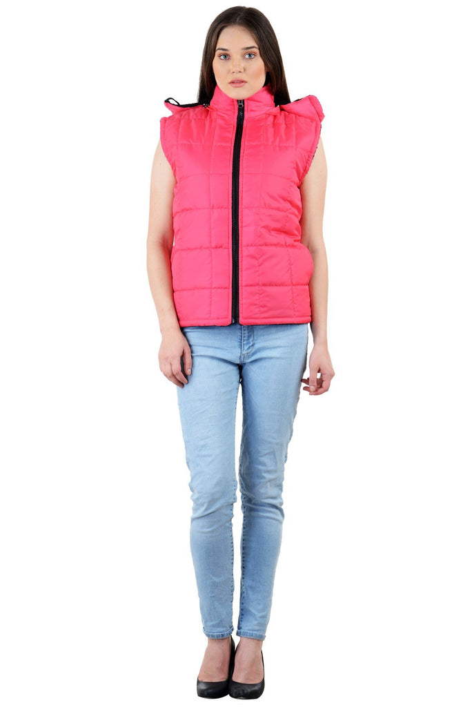Pink Color Micro Polyster Jacket