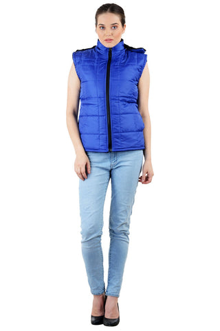Royal Blue Color Micro Polyster Jacket - RB-JacketRoyalBlue