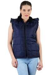 Navy Blue Color Micro Polyster Jacket - RB-JacketNevyBlue