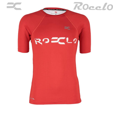 BrightRed Color Polyster T-Shirt - RC-5062