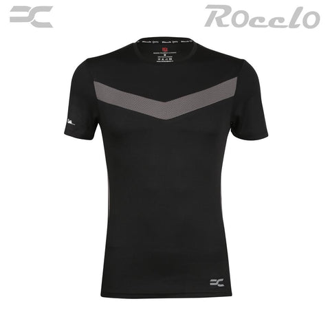 Black Color Polyster T-Shirt - RC-5073