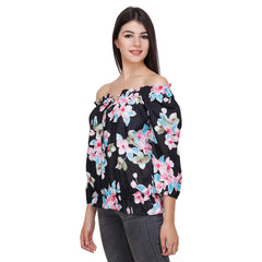 Multi Color Rayon Top - RCTPSS006