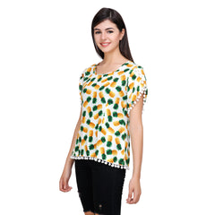 Multi Color Rayon Top - RCTPSS016
