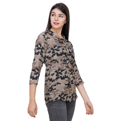Multi Color Rayon Top - RCTPSS018