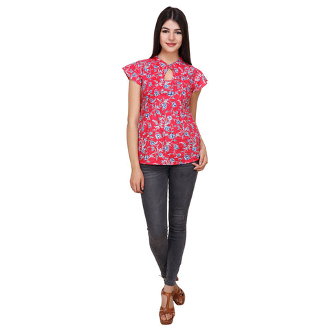 Multi Color Cotton Top - RCTPSS035