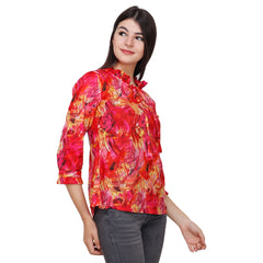 Multi Color Cotton Top - RCTPSS036