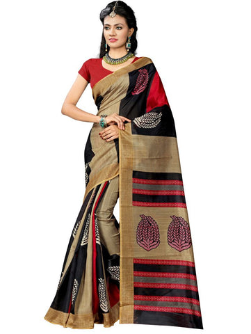 Multi Color Bhagalpuri Sarees - RITI-60